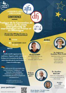Regards croises DFJ-AJFA Convention de Vienne